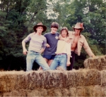 Guess Who & Where?  Hint: Green Acres Gang on Farm in Catskill Mountains.