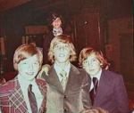 HOT STUD MUFFINS OF 1973:  Chatzky, Weisberger, Bosses,  Shaps at Rachel Spielvogel's Bat Mitzvah at The Piedmont Inn