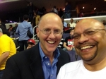 Maynard & Tom @ a Wizards game in DC 2014